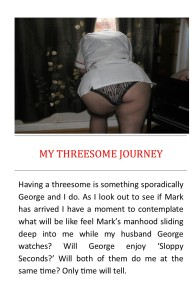 my threesome journey
