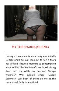my threesome journey