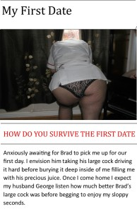 Surviving the first date